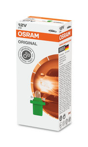 Osram Gloeilamp 12V B8.5d Original Line 10 Stuks