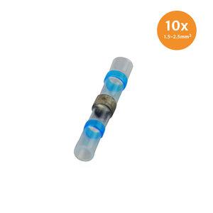 Soldeerhuls Waterdicht Blauw (1.5-2.5mm) 10 Stuks
