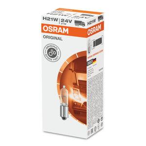 Osram Halogeenlamp 24V Original Line H21W, BAY9s 10 Stuks