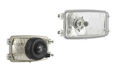 koplamp 173x93x79mm + 4-punts bevestiging