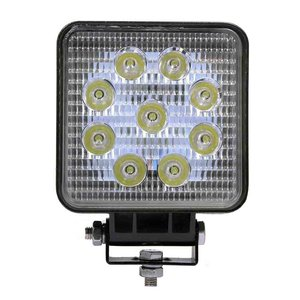 27W LED Werklamp Vierkant Basis