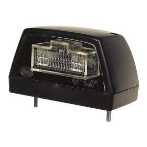 LED Kentekenverlichting Zwart 24V