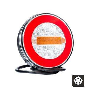 Fristom FT-110 Neon-look LED Achterlicht 3-Functies Bajonet