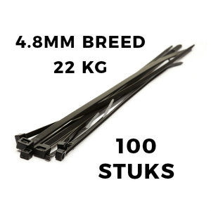 Kabelbinders 300x4,8 zak 100 stuks