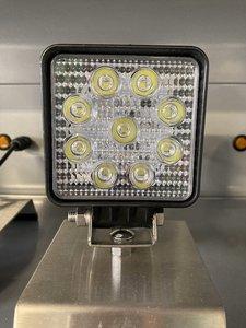 27W LED Werklamp Vierkant Mini