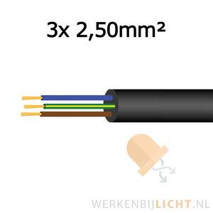 3x2,50mm2 neopreenkabel