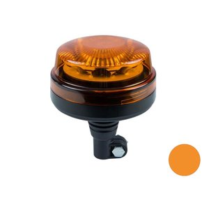 LED Oranje zwaailicht DIN steun