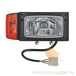 Bouwmachine-lamp