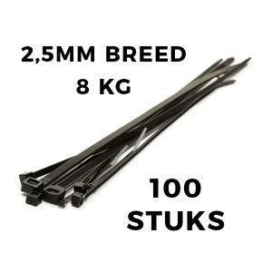 Kabelbinders 100x2,5  zak 100 stuks