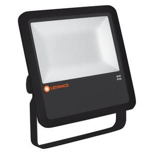 90W LED Bouwlamp 230V Zwart