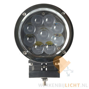 45W LED verstraler Chroom