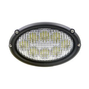 Inbouw LED Werklamp Ovaal